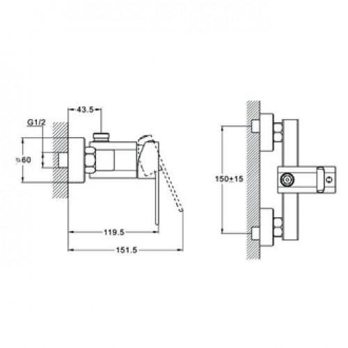 LEB5-A123 Хром