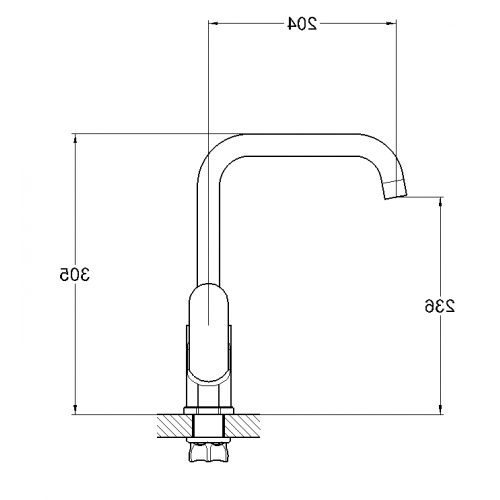 GAB4-A136 Хром