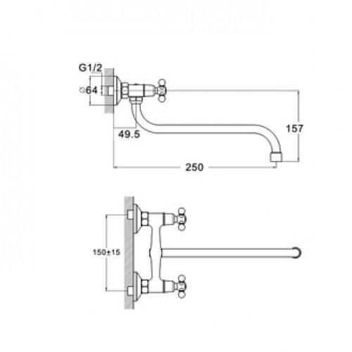 DMX12-A605 Хром