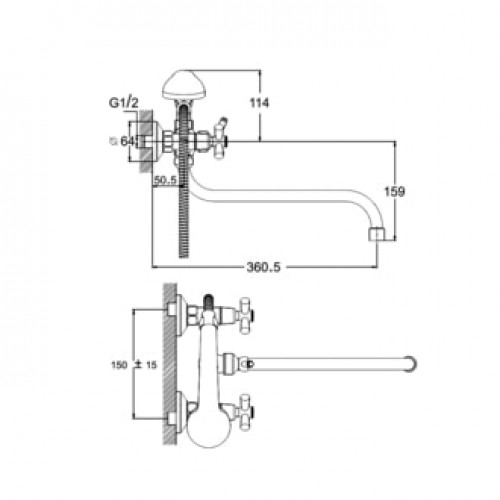 DFR7-A722 Хром