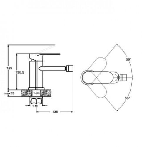 LOB2-A128 Хром