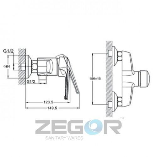 SWZ5-A182 Хром