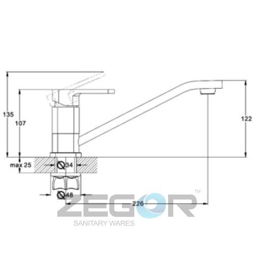 ZOR4-A058 Хром