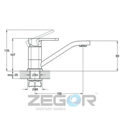 ZOR4-B058 Хром