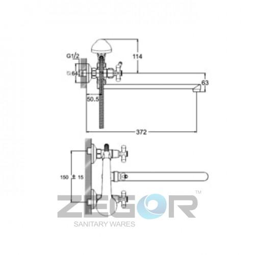 DFR7-B722 Хром