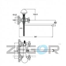 DMT7-B722 Хром