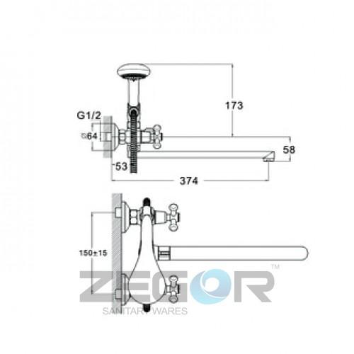 DST7-A827 Хром