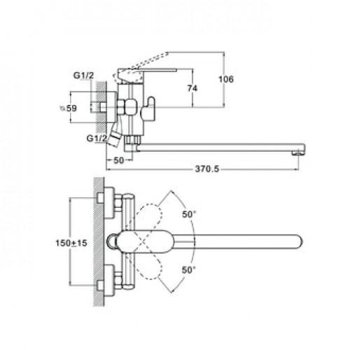 LOB7-A128 Хром